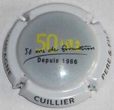 CAPSULES DE CHAMPAGNE Série  CUILLIER Pére et Fils N°33 A 33b