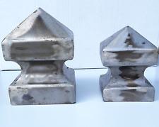 2 Stück Pfostenaufsatz Ø77mm PK034 Kugel,Pfostenkappe,für Pfosten ca