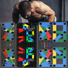 15 in 1 Push Up Rack Board System Fitness Workout Train Gym Exercise Body Stands