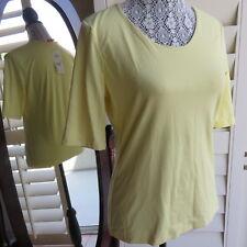 NWT Gerry Weber Yellow  Women's Top Shirt Body US Size 6 (89$)