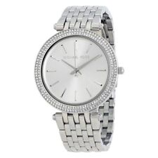 *NEW* ORIGINAL MICHAEL KORS LADIES WATCH MK3190 SILVER DARCI BNIB 2Y WARRANTY