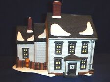 Dept. 56 Jannes Mullet Amish Farm House & Amish Family Acces. - New England Vill