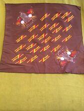Zz Top 80's Bandana Rare New Old Stock Scarf Handkerchief 20� X 21� Eliminator