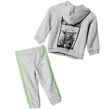Adidas Niños Star Wars Yoda jogging traje bebé Chándal luminoso Pantalón