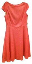 Evan Picone Orange Lace Dress - Sz 12