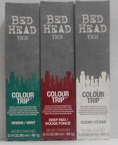 TIGI BED HEAD COLOUR TRIP Professional Semi-Permanent Hair Colour ~ 3.14 fl oz!