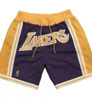 Just Don x LA Lakers away shorts Size: M 100% Authentic Lebron Mitchell & Ness