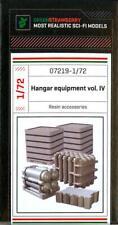 Green Strawberry Models 1/72 HANGER EQUIPMENT Set PART 4 Resin Detail Set
