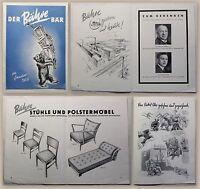 Werbeprospekt Der Bähre Bär 1939 Geschichte Mitteilungen Stuhlfabrik Springe xz