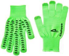 DeFeet Duraglove ET Cordura Gloves (Green / Black Grippples /X-Large Size)