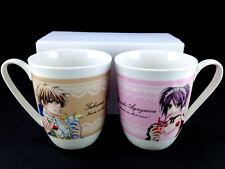 Maid Sama! Kaichou Wa Misaki & Takumi Sweet Pair Mug set official LaLa Rare New