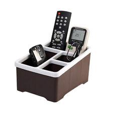 Remote Control Organizer Plastic Remote Storage Holder Stand Shelf Rack Holder