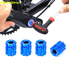 Cycling MTB Road Bike Bicycle Aluminum Alloy Offset Ring Crank Cap Removal Tools