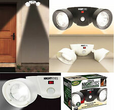 Cordless Night Eyes Motion Light Activated Flood Security Outdoor