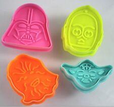 Star Wars Fondant corta pastas molde de Galleta extracción Tartas Decoración