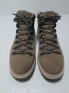 Sorel Madson Boots Gray Leather Suede Men's 10.5