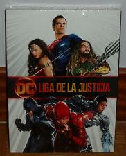 LIGA DE LA JUSTICIA DVD SLIPCOVER  PRECINTADO NUEVO ACCION (SIN ABRIR) R2