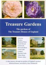 Treasure Gardens of England - Chatsworth - Blenheim Palace - Longleat - NEW DVD