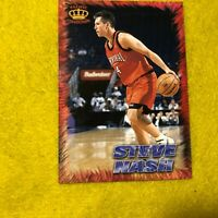 STEVE NASH , PHOENIX SUNS , 1996 PACIFIC COLLECTION BASKETBALL ROOKIE CARD RR-35
