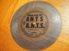 "Adam And The Ants A.N.T.S. UK 7"" Flexipop 004 FLEXI DISC Single BLUE 1981 RARE"