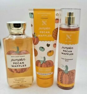 Bath and Body Works Pumpkin Pecan Waffles Collection