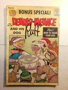 Dennis The Menace and his Dog Ruff #14 (Summer 1963) Hallden Fawcett Comics