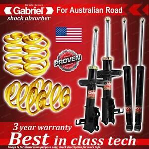 4 x lowered Gabriel Shock + Coil Spring for Holden Cruze JG JH PETROL 5/09-On