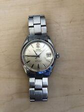 Vintage 1962 Rolex Tudor Prince Oysterdate 7966 Big Rose Steel Watch