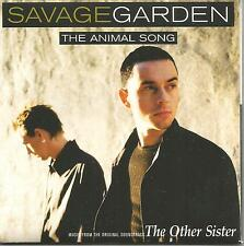 SAVAGE GARDEN Animal Song w/ Santa Monica REMIX USA CARD SLEEVE CD Single SEALED