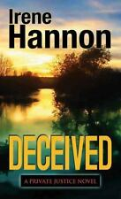 Deceived (Private Justice), Hannon, Irene, Good Condition, Book