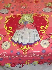 KIDS CHARACTER DUVET SET WITH FITTED SHEET(FAIRYTALE) - SINGLE - NEW