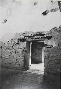 Photography, 16 x 20 matted Black and White, Beyond the Door, AZ