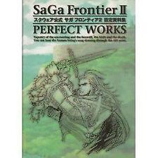 SAGA FRONTIER Art Book Japanese SAGA FRONTIER  2