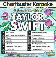 Chartbuster Karaoke: Taylor Swift, Vol. 2 by Karaoke (CD, 2009, Chartbuster Kara