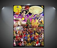 Star Trek Art Poster - A1, A2, A3, A4 sizes