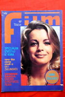 ROMY SCHNEIDER ON COVER BURT REYNOLDS 77 EXYU MAGAZINE