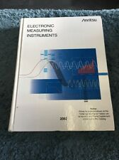 Antitsu Electronic Measuring Instruments 2002 Book