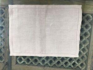 NEW Pure Linen Place mats, set of 4