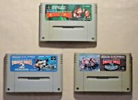 Donkey Kong country 1 2 3 SNES SFC Nintendo Super Famicom game tested Japan  jp