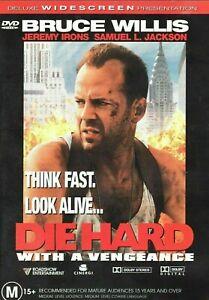 Die Hard With A Vengeance DVD 1999 Deluxe Widescreen BRUCE WILLIS - AUS REGION 4