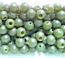 Lot 50 perles ammortisseur 8mm pêche lancer canne carpe carnassier surfcasting