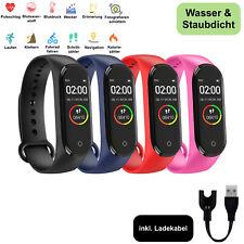 Bluetooth Smartwatch Fitness Armband Fitnesstracker Uhr Sportuhr Wasserresistent