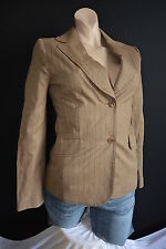 MNG Mango gloriosa 18% lana Stretch chaqueta blazer l 40 impecable