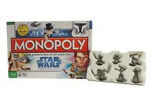 MONOPOLY Star Wars - The Clone Wars - Mit 6 Sammler-Spielfiguren
