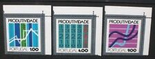 PORTUGAL 1973 Productivity Conference. Set of 3. Mint Never Hinged. SG1496/1498