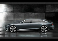 AUDI PROLOGUE SIDE VIEW NEW A3 CANVAS GICLEE ART PRINT POSTER FRAMED