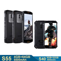 4G Robustes Smartphone Ohne Vertrag 3+32GB/4+64GB DOOGEE S40/S55 Android Handy