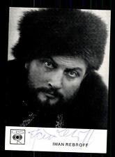 Iwan Rebroff Autogrammkarte Original Signiert## BC 72811