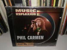 Phil Carmen - Great Hits Live (1994 CD) New & Sealed Rock Pop Switzerland