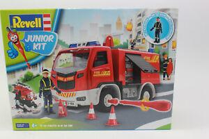 REVELL 00819 Junior Kit Feuerwehrwagen mit Figur 1:20 NEU in OVP